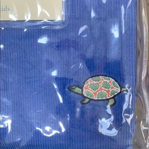 Potterybarn Kids Twin Duvet Cover Turtles NEW